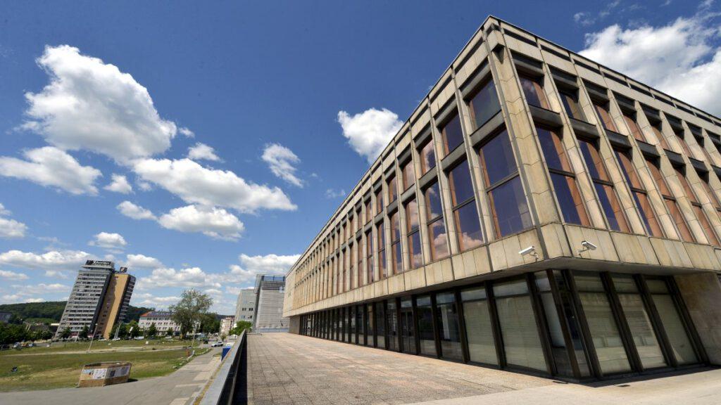 Neue Mitte, Kultur- und Kongresszentrum Gera.