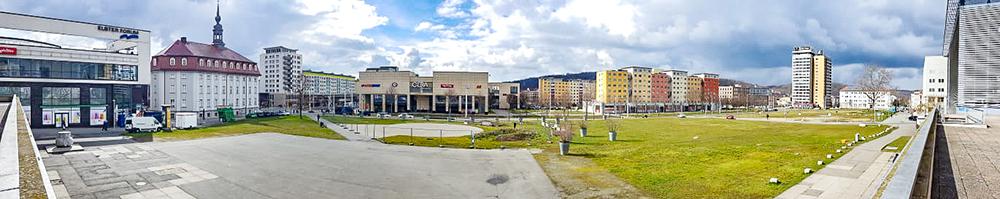 1000 14 Gera Mitte Panoramabild mit bBlick nach suedwesten